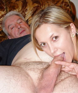 171.3 old man and young girl amateur