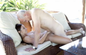 Young Girl Having Sex With Old Man